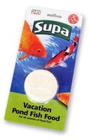 Supa Pond Holiday Vacation Fish Food 50g for Coldwater Pond Fish